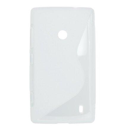 Puzdro gumené Nokia Lumia 520/525 biela
