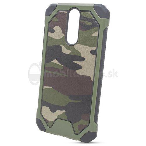 Puzdro Camouflage Army TPU Hard Huawei Mate 10 Lite - zelené