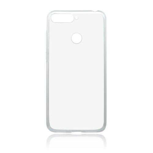 Silikónové puzdro Huawei Y6 Prime 2018 priehľadné nelepivé