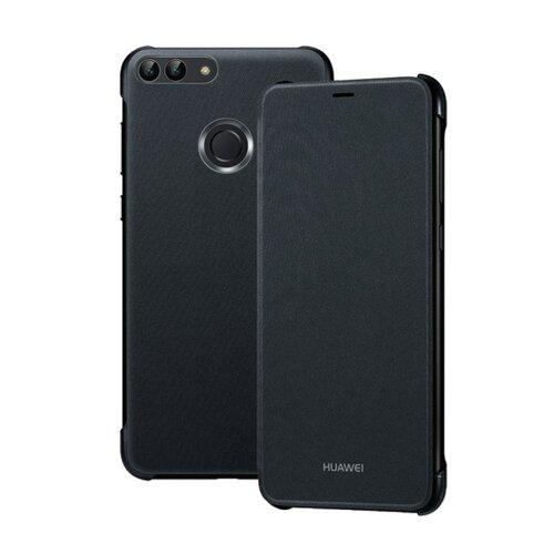 Flipové púzdro s oknom Huawei P Smart čierne