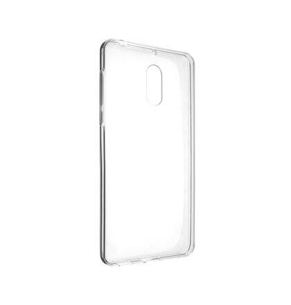 TPU gélové puzdro FIXED pre Nokia 6, číre