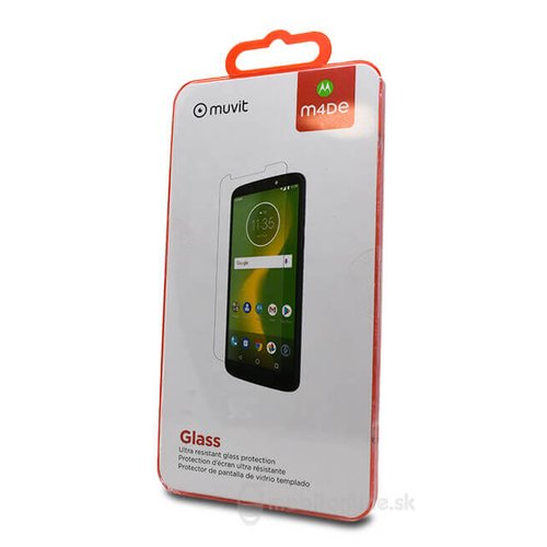 Ochranné sklo MUVIT 9H Motorola Moto G6 (MMFLC0009)