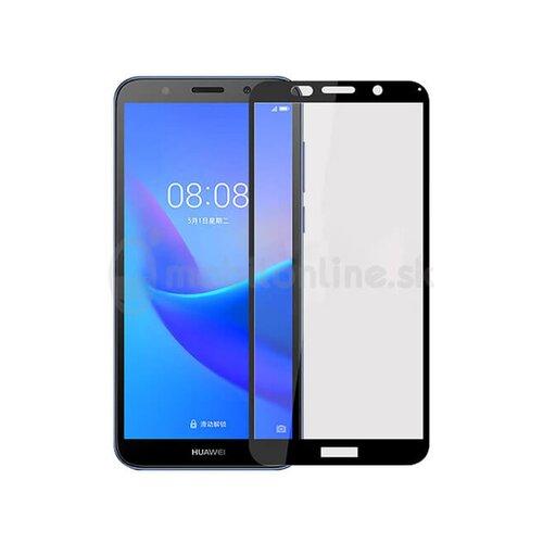 Ochranné sklo 5D Hybrid Huawei Y5 2018/Honor 7S celotvárové - čierne