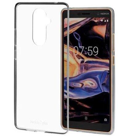 CC-708 Nokia Slim Crystal Cover pro Nokia 7 Plus Transparent (EU Blister)