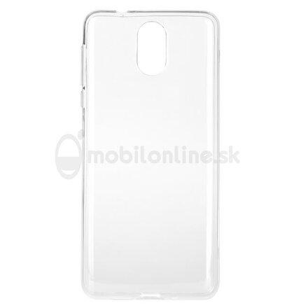 Puzdro NoName TPU Ultratenké 0.3mm Nokia 3.1 2018 - transparentné