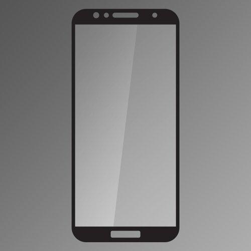 Ochranné sklo Q na Huawei Y6 Prime 2018/ Honor 7A celotvárové - čierne