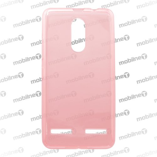 Puzdro NoName TPU Ultraslim 0,3mm Lenovo K6/K6 Power - ružové