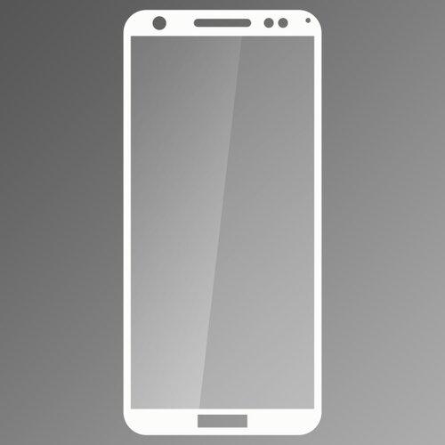 Ochranné sklo Q sklo Huawei Y6 Prime 2018 biele, fullcover, 0.33mm