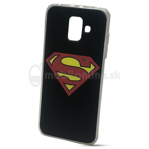 Puzdro DC Comics TPU Samsung Galaxy A6 A600 motív - Superman (licencia)