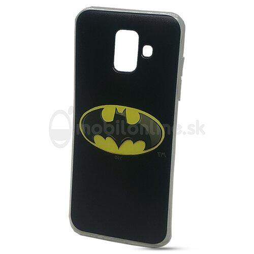 Puzdro DC Comics TPU Samsung Galaxy A6 A600 motív - Batman (licencia)