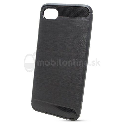 Puzdro Carbon Lux TPU HTC Desire 12 - čierne