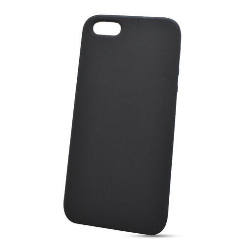 Puzdro Liquid TPU iPhone 5/5s/SE - čierne