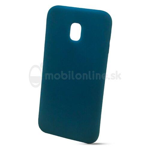 Puzdro Liquid TPU Samsung Galaxy J3 J330 2017 - tmavo-modré