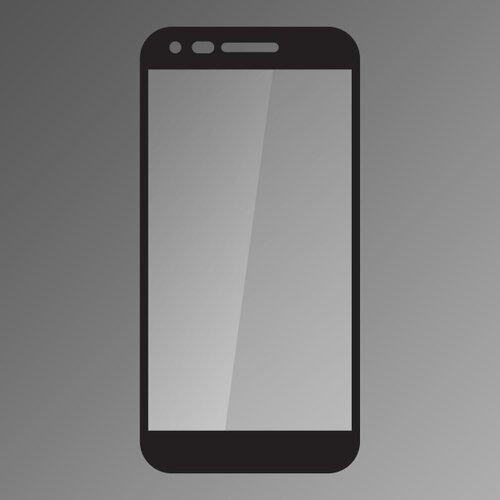 Ochranné sklo Q 9H LG K11 celotvárové - čierne