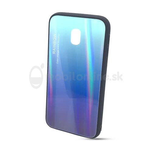 Puzdro Rainbow Glass TPU Samsung Galaxy J3 J330 2017 - modré