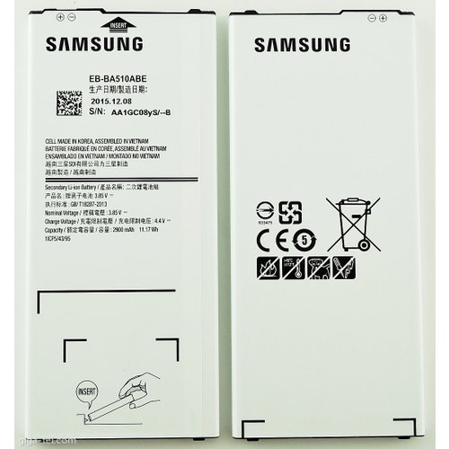Batéria Samsung EB-BA510ABE Li-Ion 2900mAh (Service pack)