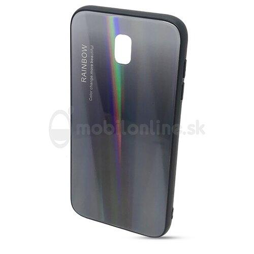 Puzdro Rainbow Glass TPU Samsung Galaxy J3 J330 2017 - čierne