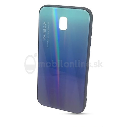 Puzdro Rainbow Glass TPU Samsung Galaxy J5 J530 2017 - modré