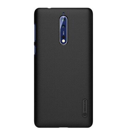 Nillkin Super Frosted Zadní Kryt Black pro Nokia 8