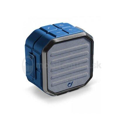 Bezdrôtový reproduktor CellularLine MUSCLE, AQL® certifikácia, modrý