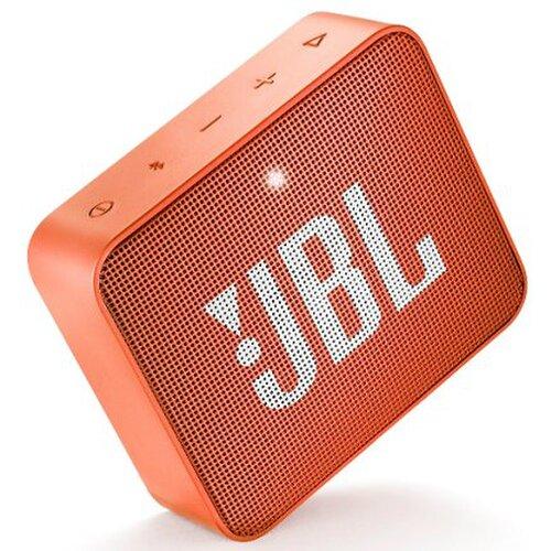 JBL GO2 IPX7 Bluetooth reproduktor Oranžový
