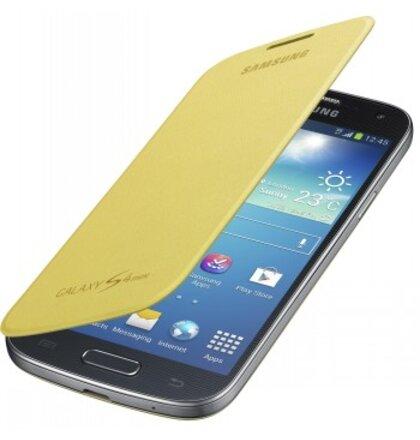 EF-FI919BYE Samsung Flip Pouzdro pro Galaxy S4 mini i9190 i9195 žlté (EU 7be67ced262