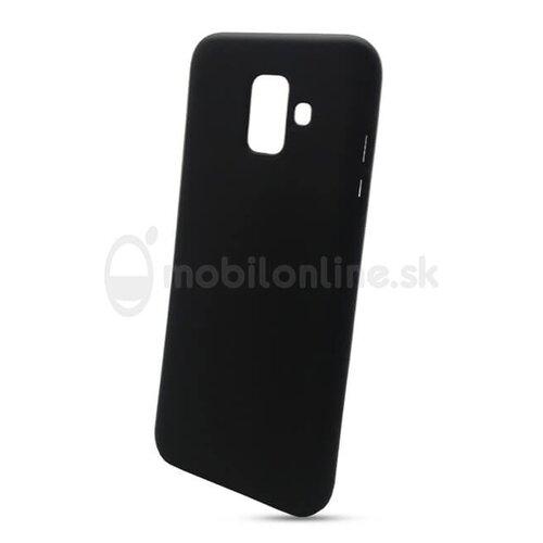 Puzdro Liquid TPU Samsung Galaxy A6 A600 - čierne