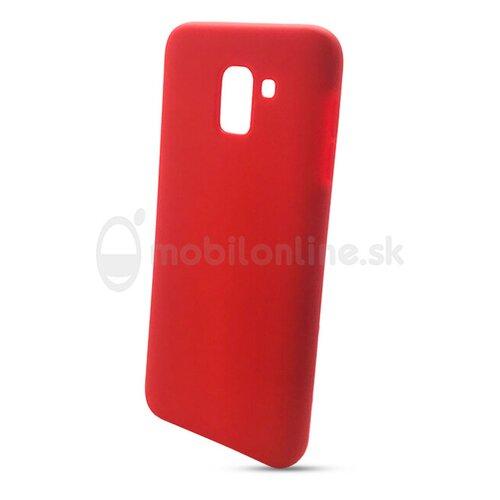 Puzdro Liquid TPU Samsung Galaxy J6 2018 - červené
