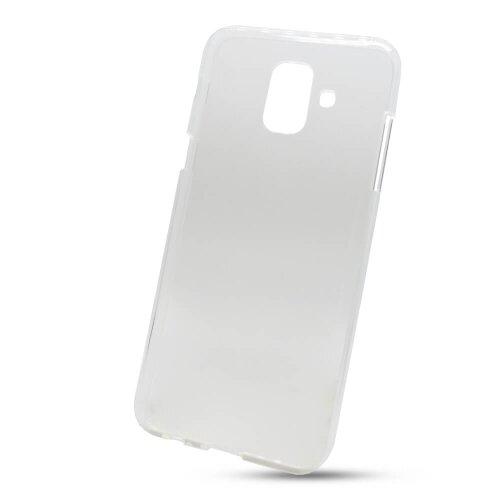 Puzdro Mercury Jelly TPU Samsung Galaxy A6 A600 - transparentné