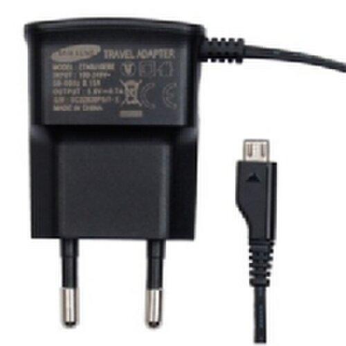 Nabíjačka Samsung ETA0U10EBE 3.5W MicroUSB Čierna (EU Blister)