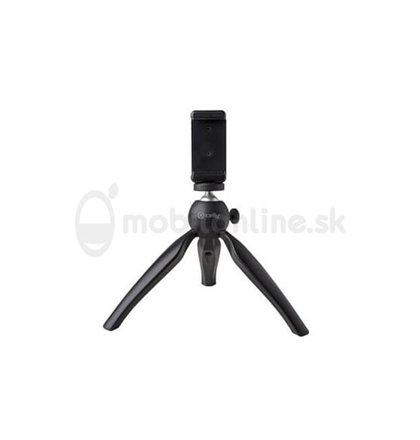 Kompaktný tripod na mobilný telefón CELLY Mini Table Tripod, čierny