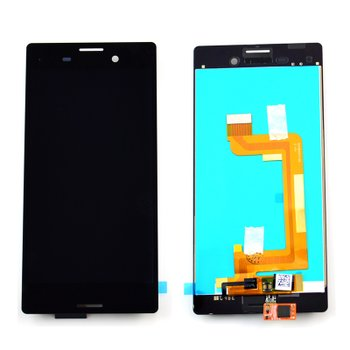 Sony E2303 Xperia M4 Aqua - LCD Displej + Dotyková Plocha - Čierny