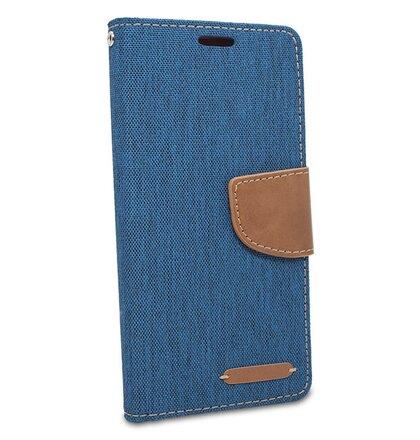Puzdro Canvas Book Huawei Mate 20 Lite - modrý