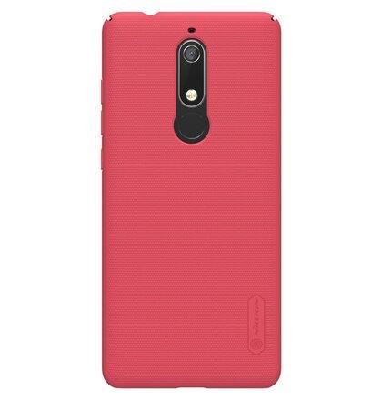 Nillkin Super Frosted Zadní Kryt Red pro Nokia 5.1
