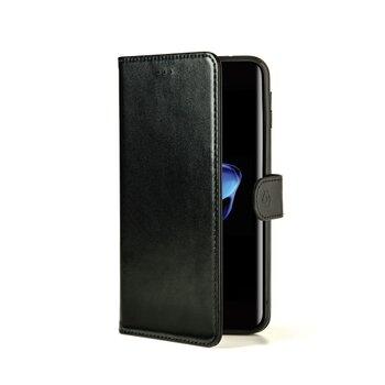 Puzdro typu kniha CELLY Wally pre Apple iPhone 7 Plus/8 Plus, PU koža, Black Edition