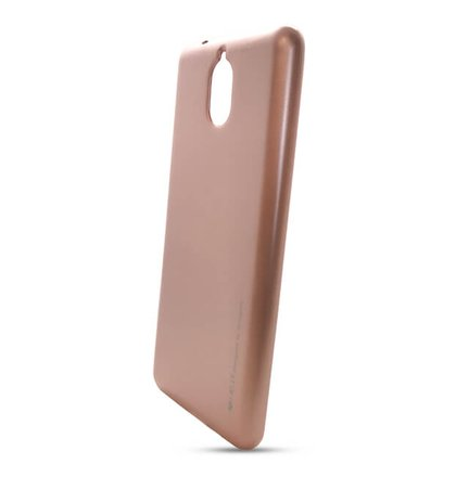 Puzdro i-Jelly Mercury TPU Nokia 3.1 - ružovo-zlaté