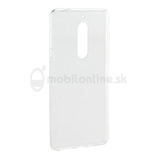 Puzdro NoName Ultraslim TPU 0,3mm Nokia 5.1 2018 - transparentné