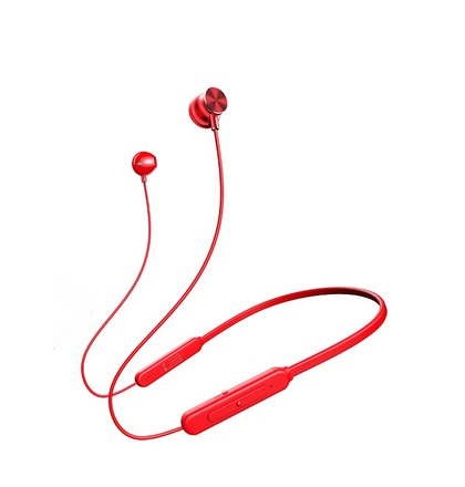 USAMS YD-S1 Sport Stereo Bluetooth Headset Red