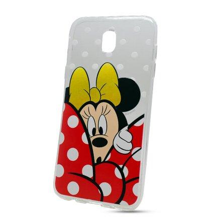 Puzdro Disney TPU Samsung Galaxy J5 J530 2017 motív - Minnie Mouse (licencia)