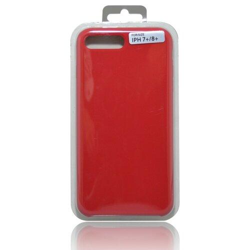 Puzdro Silicon iPhone 8 Plus (7 Plus) červené