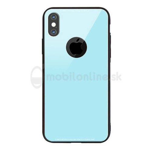 Puzdro Glass Hard TPU Samsung Galaxy J3 J320 2016 - modré