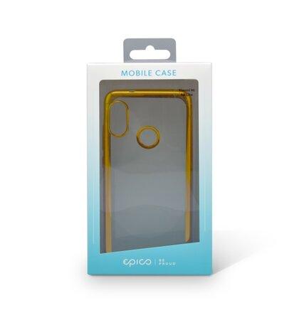 Gumené puzdro Epico Bright Xiaomi Mi A2 Lite zlaté