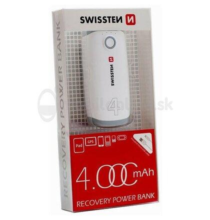 SWISSTEN RECOVERY POWER BANK 4000 mAh