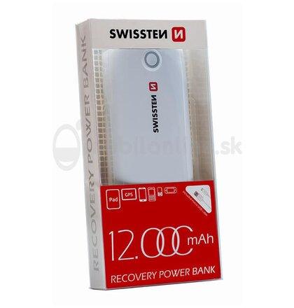 SWISSTEN RECOVERY POWER BANK 12000 mAh