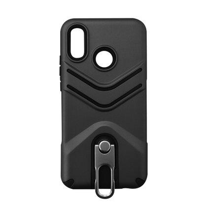 Outdoorové puzdro TPU Huawei P20 Lite - čierne