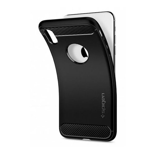 Puzdro Spigen Rugged Armor iPhone Xs Max - čierne