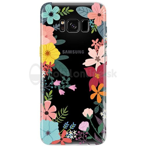 Puzdro 4-OK TPU Samsung Galaxy S8 G950 - flowers