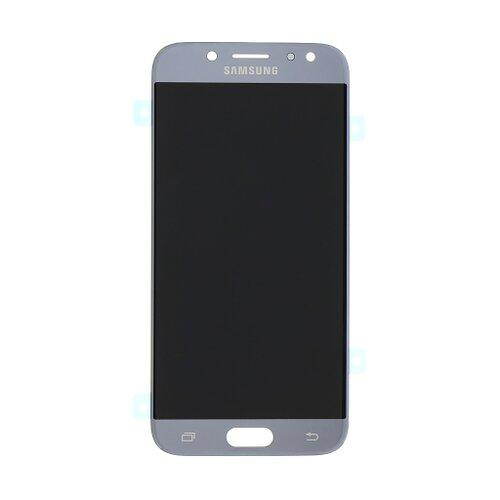 Samsung J530 Galaxy J5 2017 - LCD Displej + Dotyková Plocha - Strieborný (Service Pack)