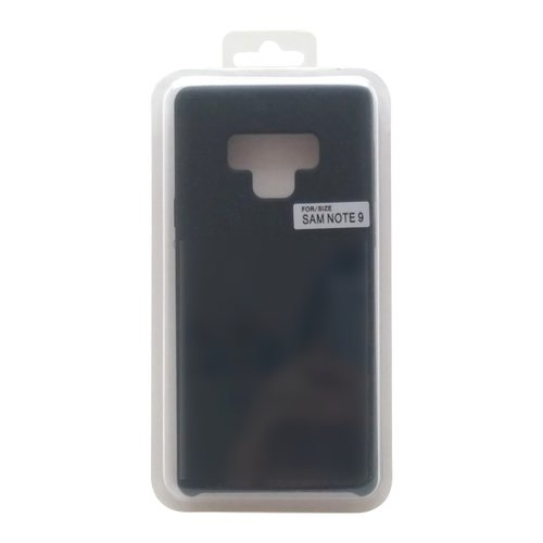 Puzdro Liquid TPU Samsung Galaxy Note 9 čierne