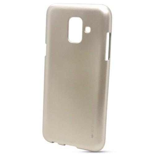 Puzdro i-Jelly Mercury TPU Samsung Galaxy A6 A600 - zlaté